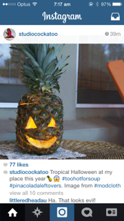 Pineapple Jackolantern