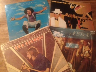 Records, Skyhooks, Leo Sayer, Rod Stewart, ABBA