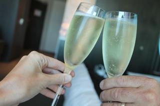Emporium champagne glasses