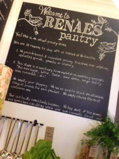 Pantry manifesto