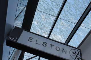 Cafe Elston sign