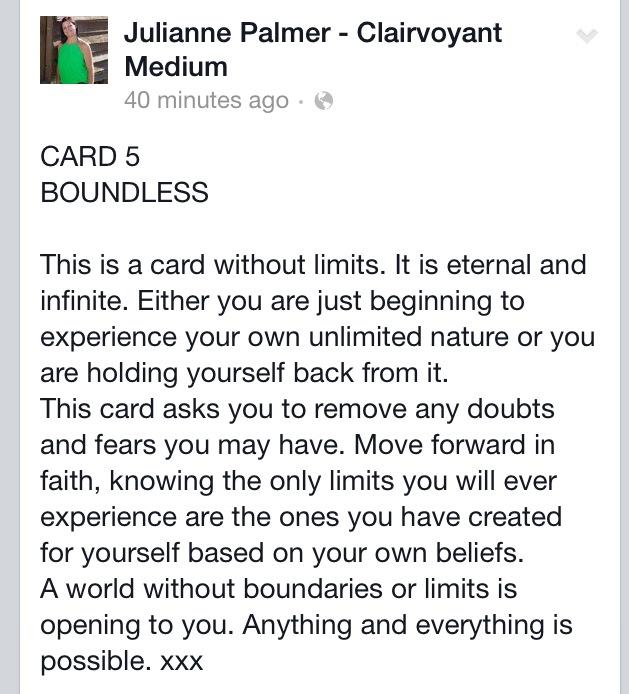 Clairvoyant card