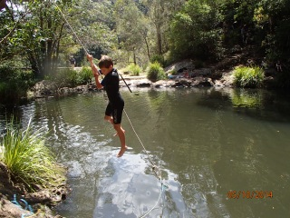 Rope Swing and Kondalilla falls